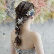 全体に花を散らして華やかに❁