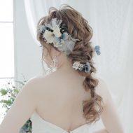 お花×チュールの組み合わせが可愛い♡