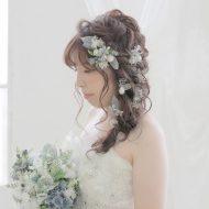 ラプンツェルヘアはお花たっぷりでより華やかな印象に