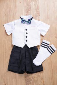 前撮りフォトウエディングが出来るISHIKURI PHOTO STUDIOの男の子衣装