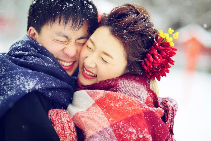 冬のロケーションフォトの防寒対策